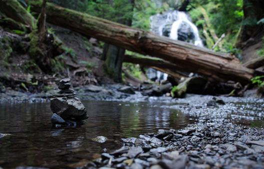 Orcas Island Cascade Falls