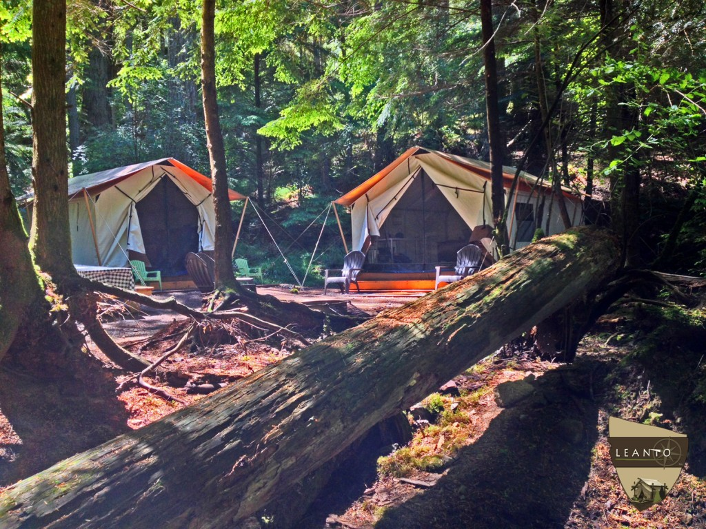 LEANTO Moran State Park Glamping Site 7