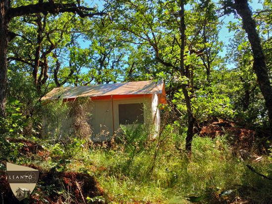 LEANTO Vagabond Lodge Eagle Camp