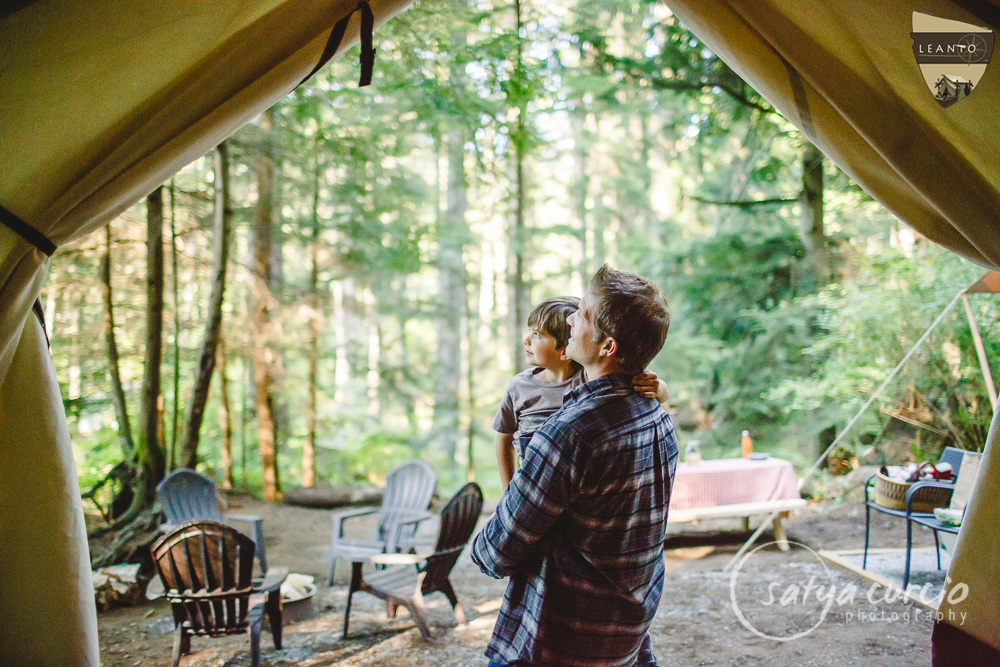 LEANTO Family Glamping Orcas Island