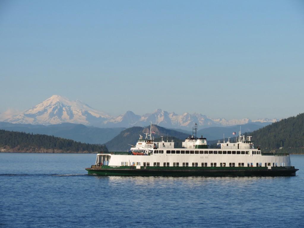 Orcas Island Washington State Ferry San Juan Island Scenic Byway