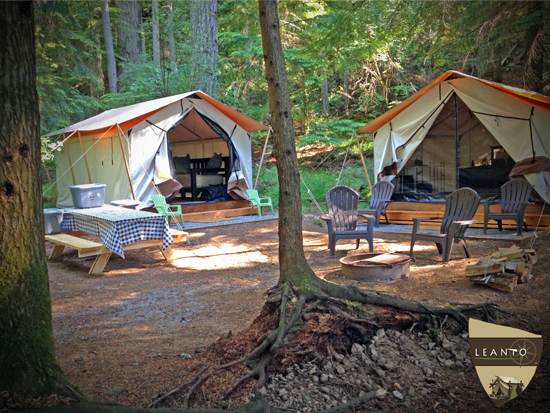 Moran State Park Glamping Site 7 - LEANTO ®