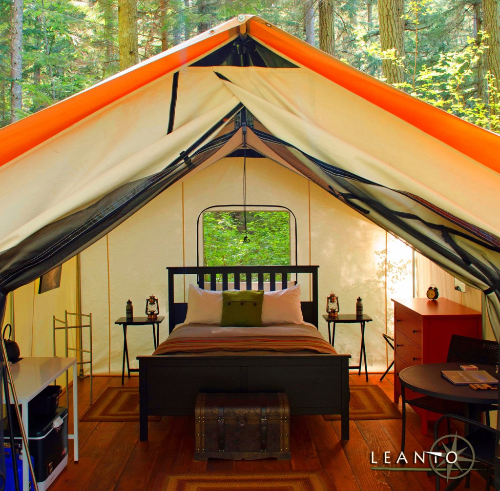 LEANTO Washington State Glamping Sites
