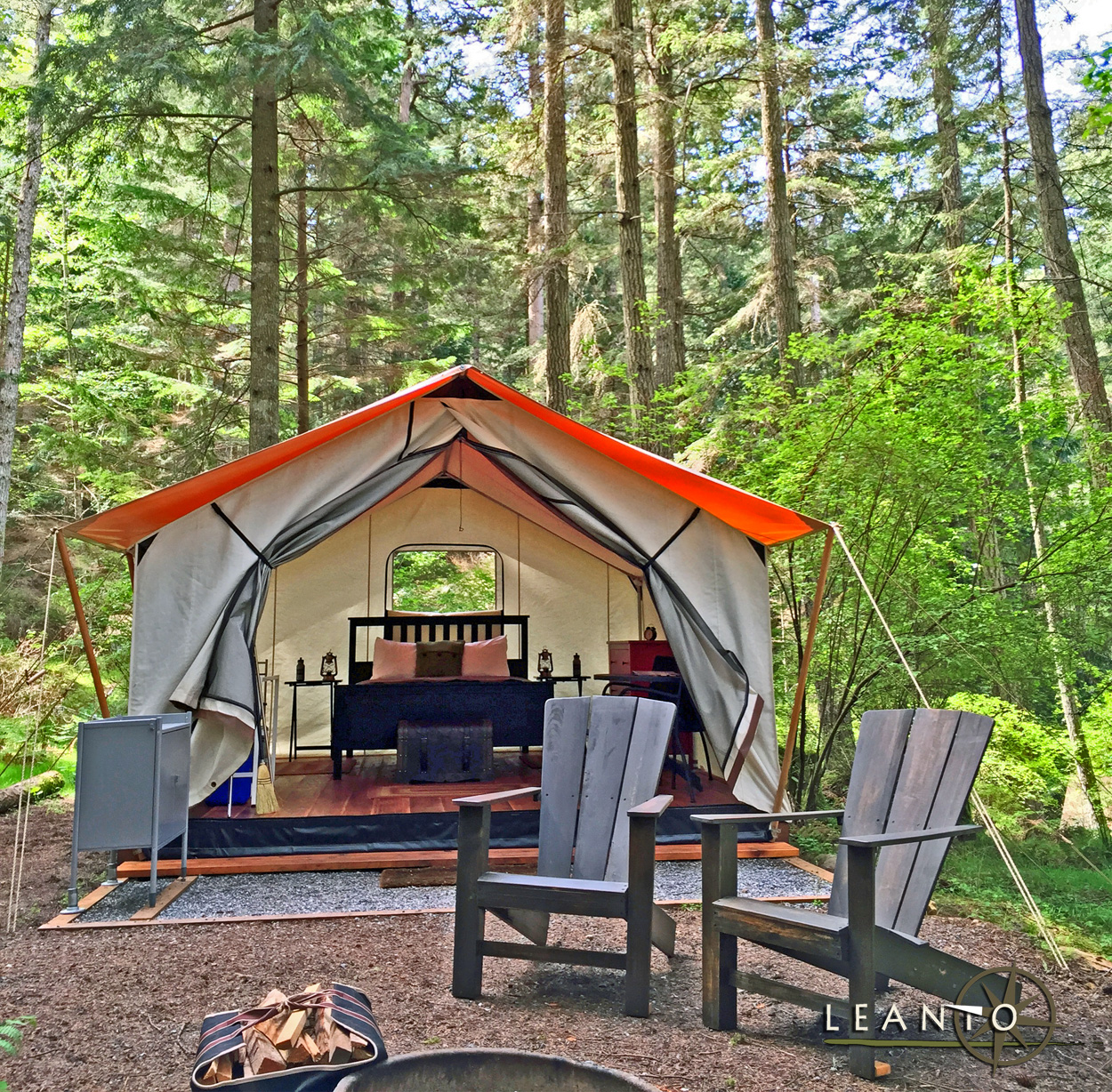 LEANTO Washington State Glamping Site