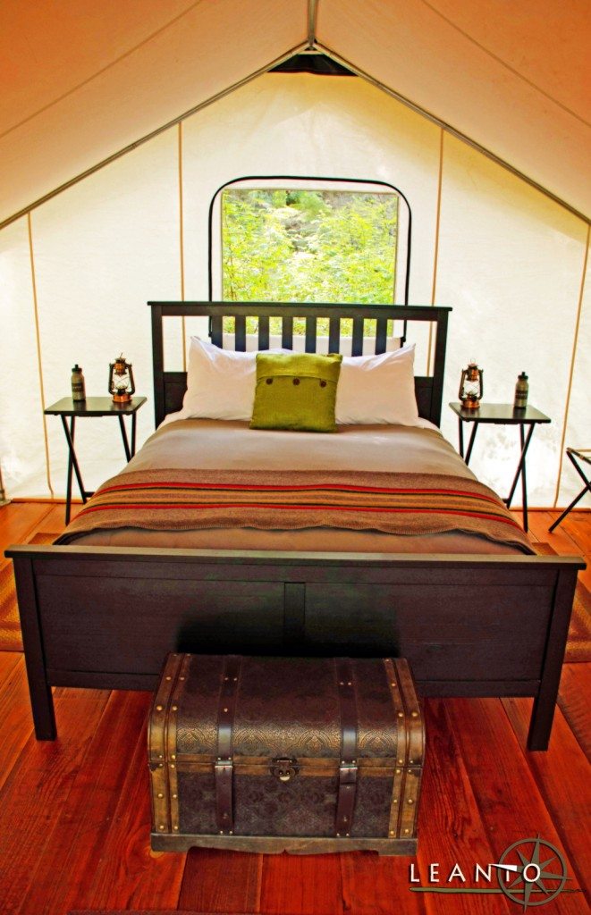LEANTO Washington State Glamping Tent