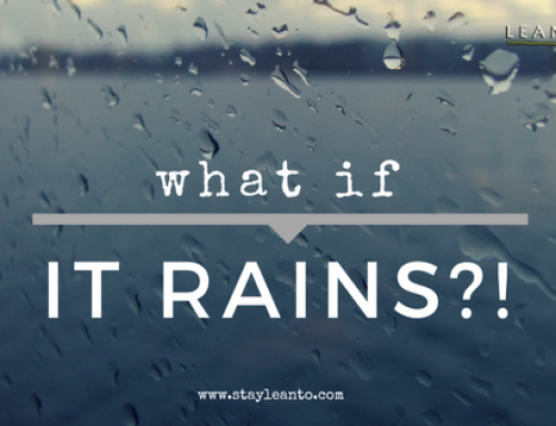 What do you do if it rains?!