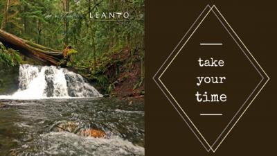 LEANTO Washington State Glamping Take your Time