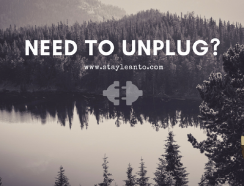 Need to unplug?