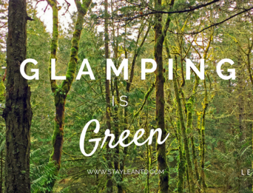 Glamping is Green