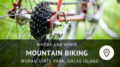 LEANTO Moran State Park Mountain Biking